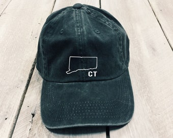 Connecticut women s state embroidered hat 1cf69c1b623b