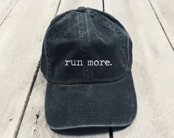 f026365d715 Run More men s and women s running baseball hat
