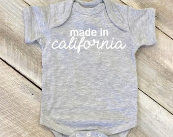 thegymyarraville.com.au California, CA Funny Baby T-Shirt Toddler ...