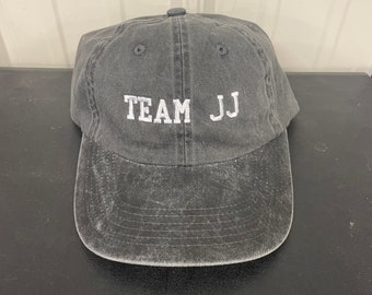 Team JJ, Pouge hat, OBX hat, OBX Vibes, Outer Banks Hat, kook, beach hat, summer hat, pigment dyed hat, embroidered hat, women's hat