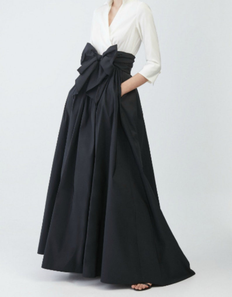 Cotton maxi romantic Evening maxi cotton skirt White maxi cotton wrap skirt Black plus size high waist skirt Graduation dress