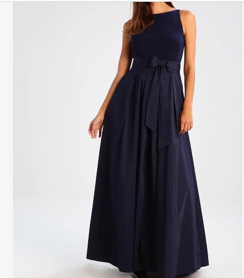 1f2cc42780eb Green velvet dress formal evening Black taffeta kaftan maxi | Etsy