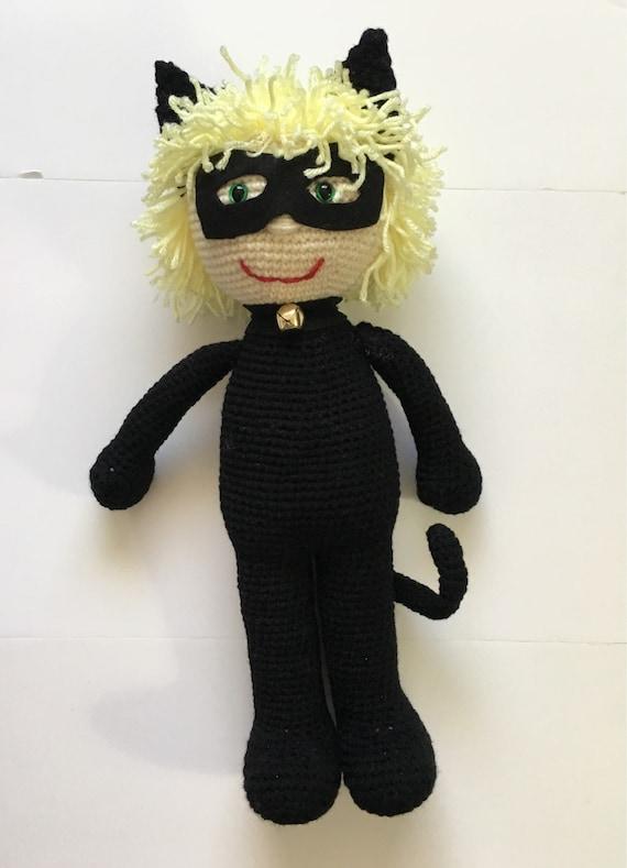 Miraculous Ladybug and Cat Noir amigurumi dolls | Amigurumi doll ... | 789x570