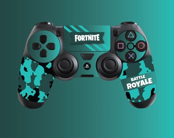 Battle Royale Rare Quality PS4 Controller Skin Inspired By Fortnite