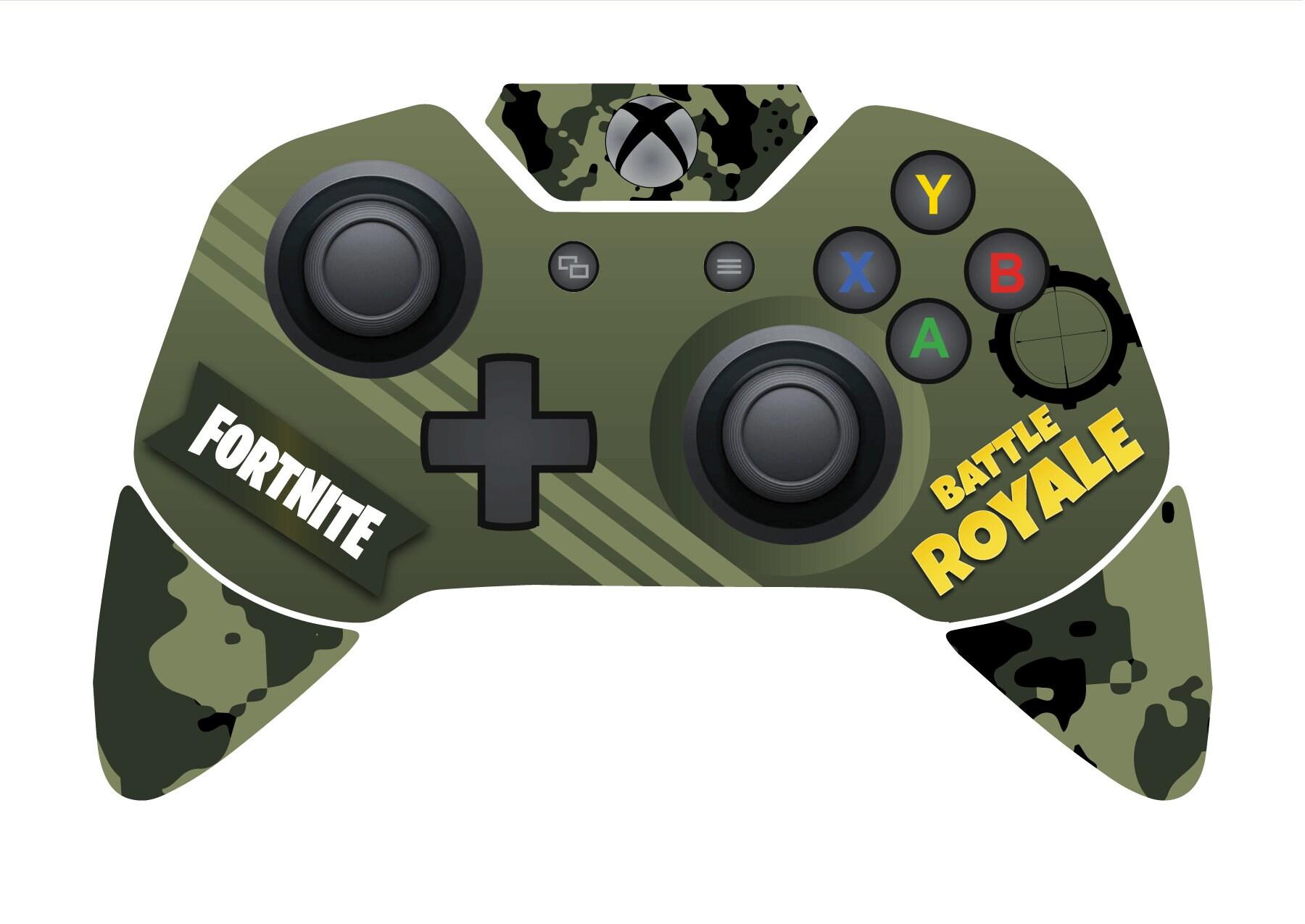 Kampf Royale Xbox ein Controller Haut inspiriert von Fortnite