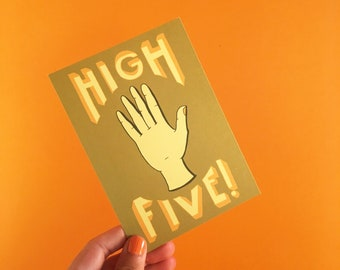High five Olive