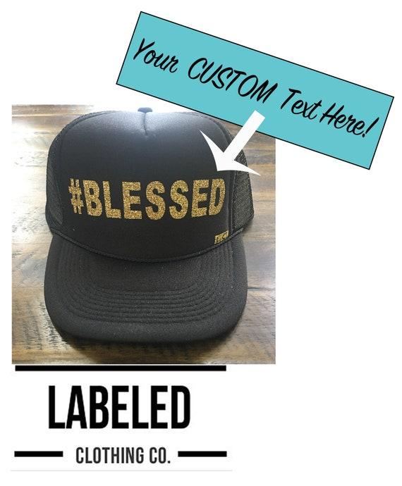 Design Your Own Custom Trucker Hat Baseball Customized Hats  9fa681e3b5a