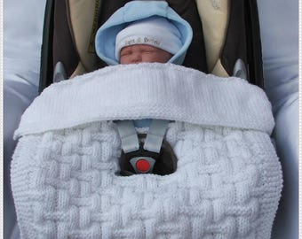 8 Patterns For Car Seat Blankets To Fit Standard 0 9m Seats
