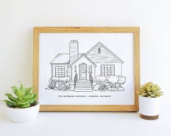Minimalist Drawing Etsy