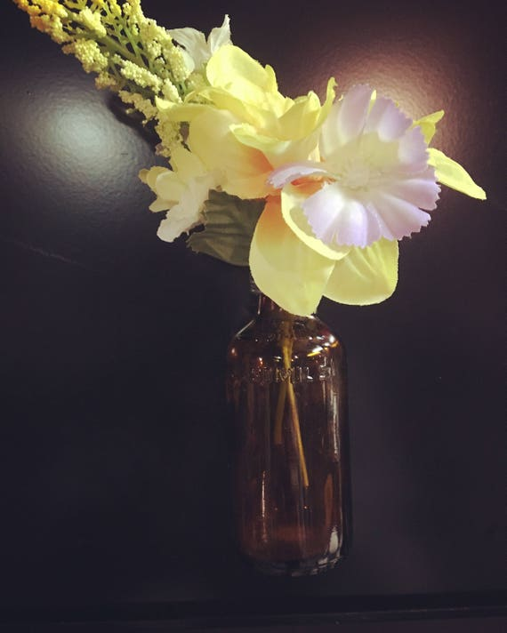 Vw Beetle Bus Bud Vase Flower Magnetic Home Office Fridge
