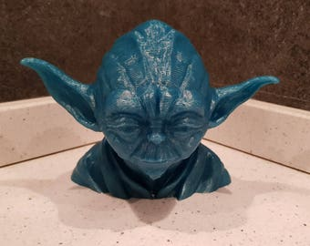 Bust of Yoda, Grand Master of the Jedi Order in Star Wars