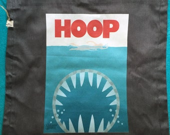 Jaws Hula Hoop shoulder bag RECYCLED material Eco friendly LIMITED EDITION