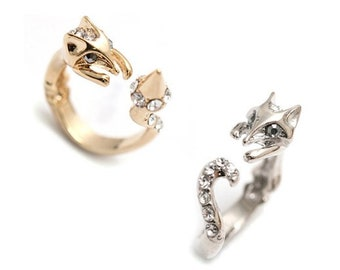 Fox Ring Etsy