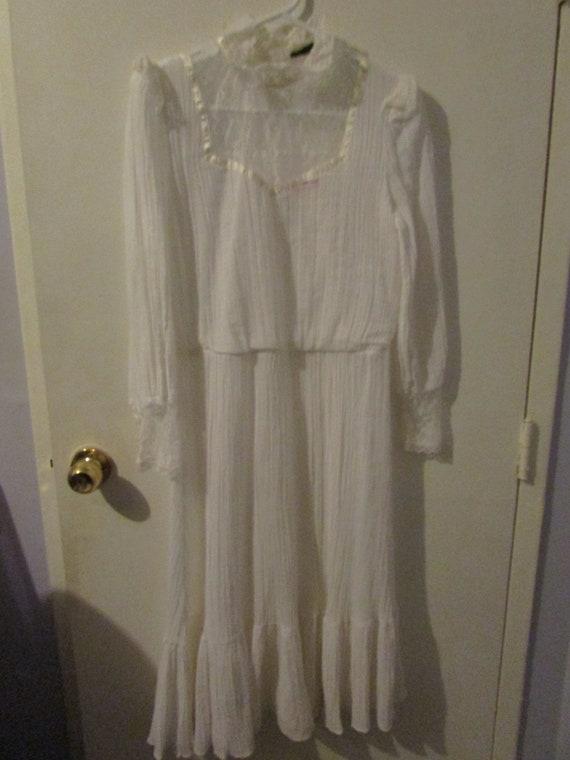 "Vintage Edwardian, Victorian Style Tea Dress ""Mina"
