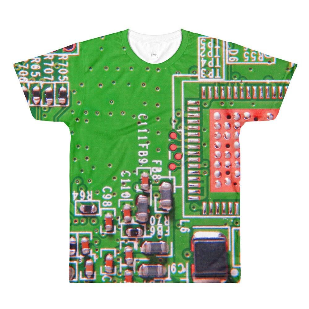Circuit Board Cufflinks Green Square Geek Jewelry Mens Gift Pcb Synthrotek 4093 Nand Synth Printed Diy Ebay