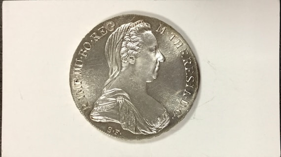 1780 thaler silver restrike coin uncirculated  buy 5 get one free