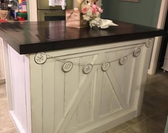 Ordinaire Farmhouse Kitchen Island