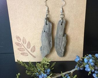 Lake Michigan Driftwood Earrings