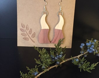Handcrafted Wooden Earrings