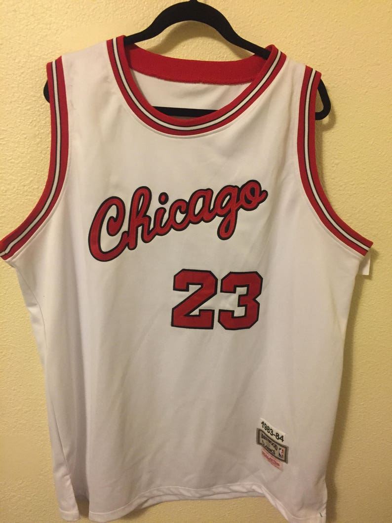 hot sale online 93ec8 e37e3 Michael jordan vintage jersey 2XL