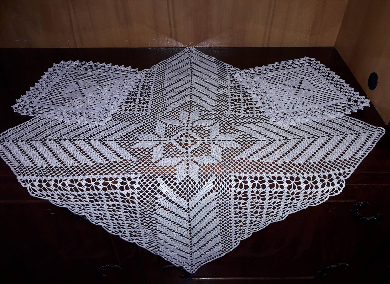 Häkeln Sie Deckchen Vintage Geschenk-Idee Vintage-Baumwolle