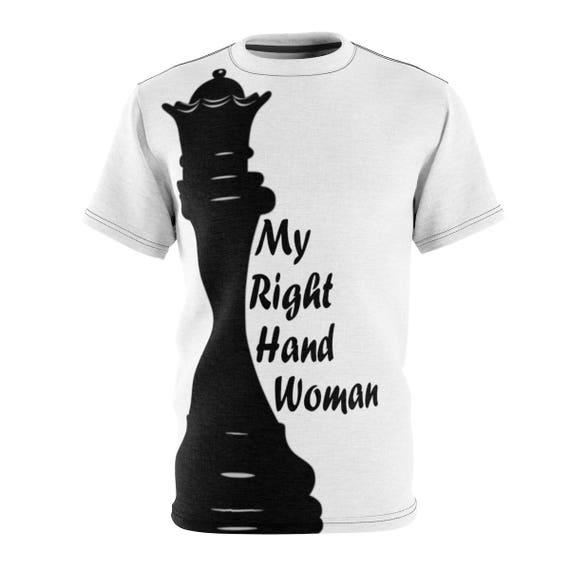 68b07f93 Men's Queen Chess Piece Tee | Etsy