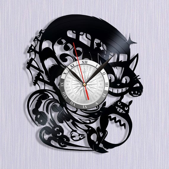 Vinyl clock Totoro Gifts for boys Gift ideas for kids Gifts  e2a68f7257