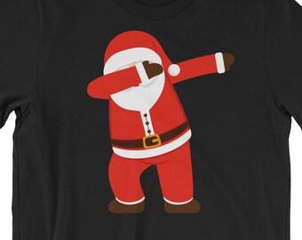 89fd678e Dabbing Dab Dance Santa Christmas Funny Ugly Sweater Style Santa Claus Shirt  Teens Adults Awesome Christmas 2017 Gift Idea Men Women Santa H