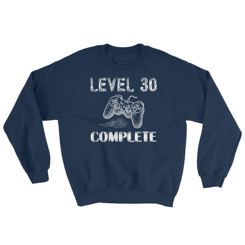 Level 30 Complete Bday Gamer Geek Birthday Gifts T Shirts