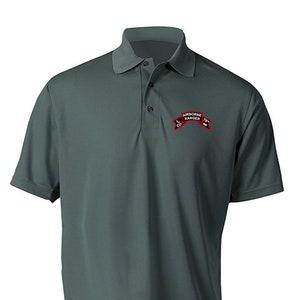 Embroidered Hooded Sweatshirt w Zipper-13613 N Company 75th Ranger Company-Vietnam