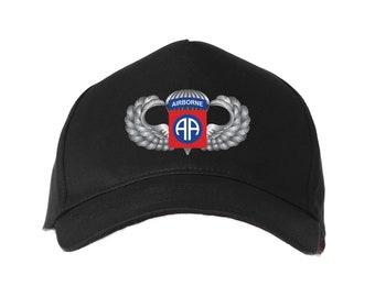 ef2f75da2d21a 82nd Airborne Division Embroidered Baseball Cap-10891
