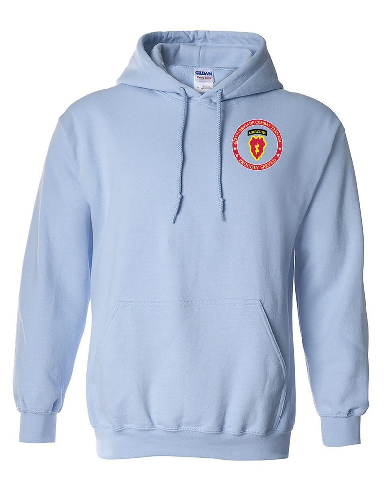 Airborne 25th Infantry Division Embroidered Hooded Sweatshirt-12671