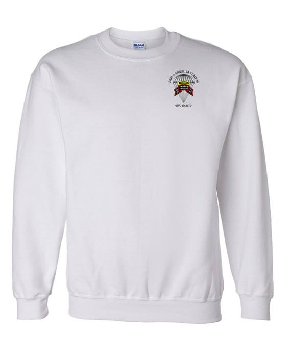 Embroidered Sweatshirt-10355 275th Ranger Battalion-Original Scroll