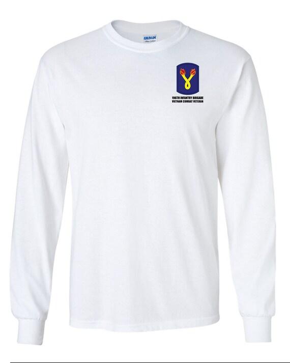 New Vietnam Veteran US Army 198th Light Infantry Brave /& Bold T-Shirt Size 2XL