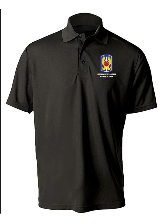 Long-Sleeve Cotton Shirt-8662 Vietnam 199th Light Infantry Brigade