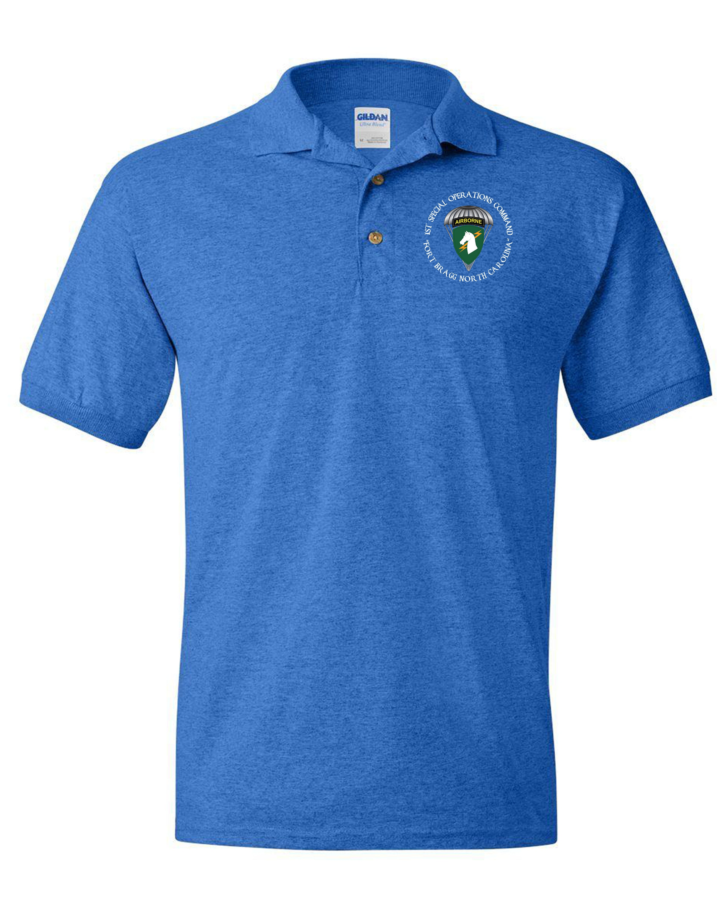 Socom Embroidered Cotton Polo Shirt 6859 Etsy