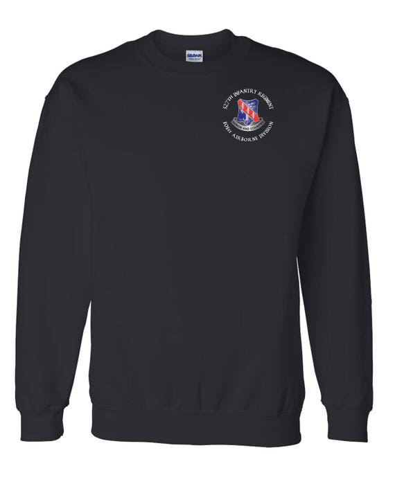 327th Infantry Regiment Embroidered Sweatshirt-14117