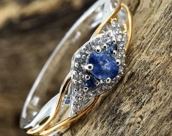 Top Gem Quality Ceylon Sapphire Ring - Size 9
