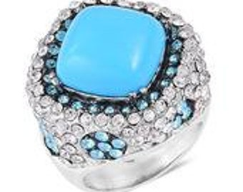 Sleeping Beauty Mine Turquoise Ring