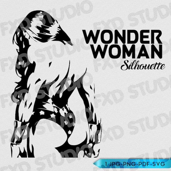 STICKER AUTOCOLLANT//POSTER A4 FILM MOVIE WONDER WOMAN