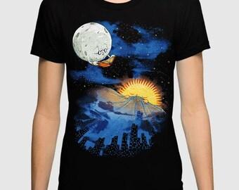 Night Fairytale Art T-shirt, Men's Women's All Sizes