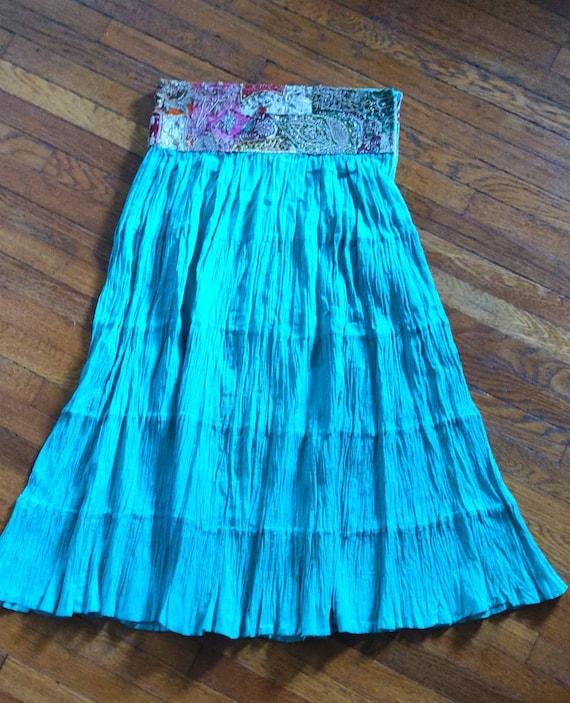 Incredible Vintage Hippie Skirt