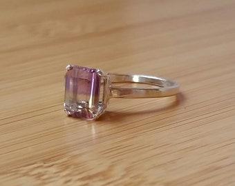 Ametrine Size 8 Ring