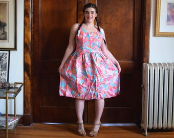 aaa2ef5bd2 Vintage floral dress