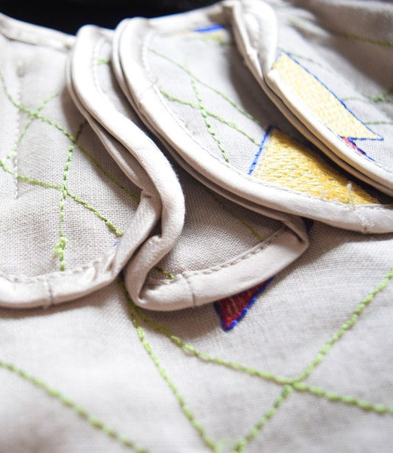 Bell Sleeve Blouse | Linen Blouse | Beige Blouse … - image 9
