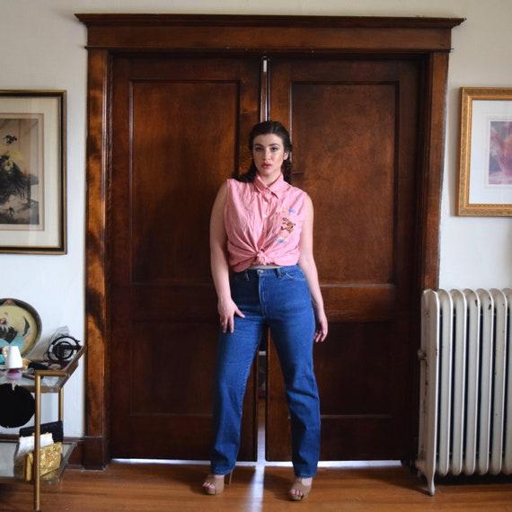 Medium Wash Jeans | 70s Jeans | Wrangler Jeans | H