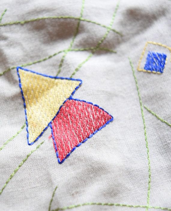 Bell Sleeve Blouse | Linen Blouse | Beige Blouse … - image 2
