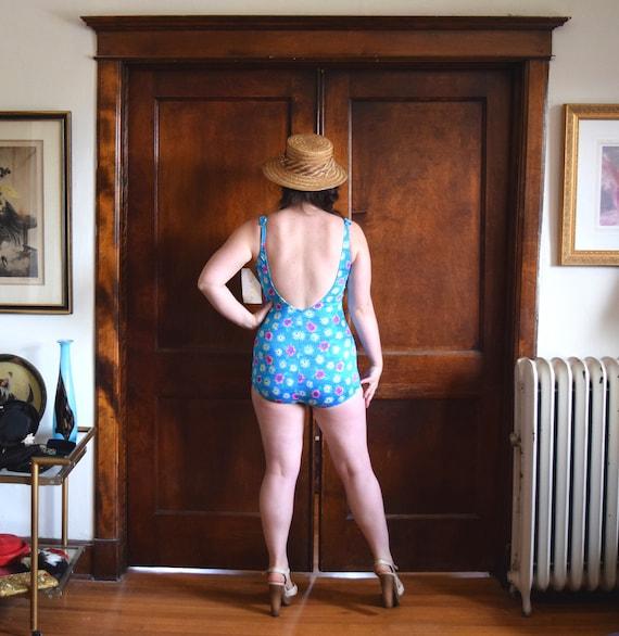 60s Swimsuit | One Piece Swimsuit | Plus Size Swi… - image 6