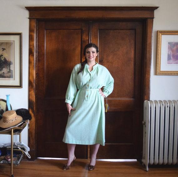 Green Dress   Knit Dress   Tunic Dress   Plus Size