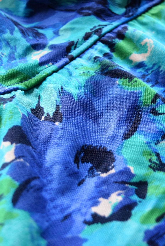 Skirted Swimsuit | Blue Swimsuit | One Piece Swim… - image 2